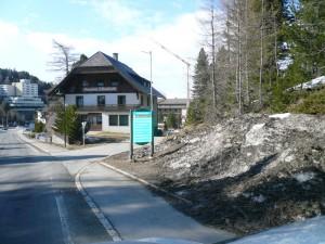 Turracher Höhe - odbočka k ap